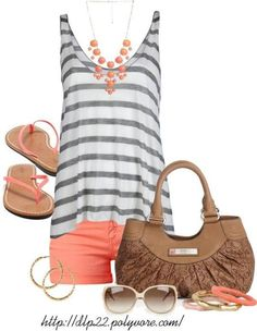 30 Casual Summer Outfit Ideas | The Crafting Nook by Titicrafty