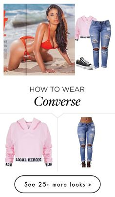 """First date"" by strange-fruit on Polyvore featuring Local Heroes and Converse"