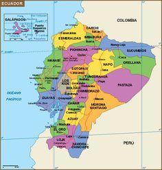 Ecuador mapa