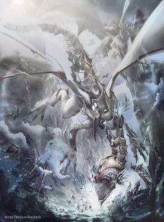 Blue Eyes Ultimate Dragon from Yugioh! by Kazuki Takahashi