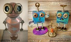 Krissy's Bitty Bots are so cute, you'll wanna squeeze 'em.