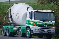 Bill Supercrete Of Tauranga New Zealand Runs A Large Fleet Readymix Trucks