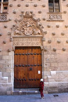 Casa de las Conchas, The Shells House, Salamanca, Spain