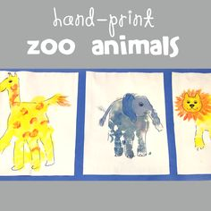 """""""Z"""" is for ZOO Animals-  and a COMPLETE collection of awesome alphabet crafts for kids!"""