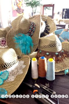 Ibiza Cowboy Hats on the way.... Dazzling Gypsy Queen