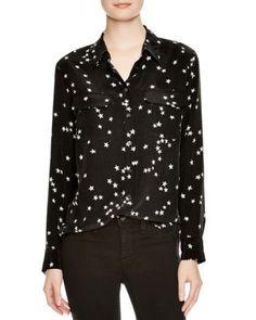 Equipment Slim Signature Silk Shirt | Bloomingdale's