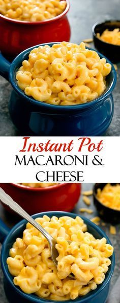 Instant Pot Macaroni and Cheese. Super creamy macaroni and cheese is even easier and faster in the Instant Pot.