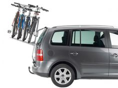 Thule BacPack Cycle Carrier on an estate MPV car 4 Bike Carrier, Cycle Carrier, Bike Rack, Fiat, Boots, Vehicles, Vw, Interiors, Group