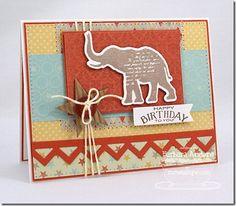 Circus Spectacular Die-namics and Stamp Set - Barbara Anders