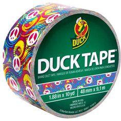 10 yds Length x 1-7//8 Width Pink Shurtech Brand SH-280320 Duck Brand Tape Zebra Print