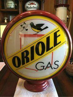 Original Gas Pump Globes | ... gas stations gas pump globes 1 neil fletcher old gas pump globes