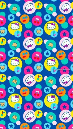 20 Ideas For Iphone Wallpaper Pattern Pink Prints Hello Kitty Hello Kitty My Melody, Pink Hello Kitty, Sanrio Hello Kitty, Ipod Wallpaper, Kawaii Wallpaper, Pattern Wallpaper, Hello Kitty Iphone Wallpaper, Hello Kitty Backgrounds, Hello Kitty Pictures