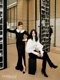 Julianne Moore and Leslie Fremar