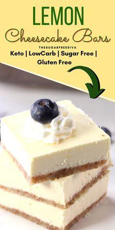 Carb Free Desserts, Sugar Free Deserts, Diabetic Friendly Desserts, Low Sugar Desserts, Sugar Free Sweets, Low Calorie Desserts, Sugar Free Recipes, Low Carb Deserts, Low Carb Sweets
