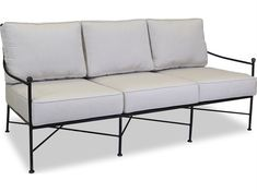 Shop this sunset west quick ship provence wrought iron sofa in canvas flax with self welt from our top selling Sunset West sofas. PatioLiving is your premier online showroom for patio seating and high-end outdoor furniture.