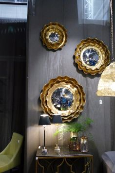 These are truly amazing mirros! We saw them at Tendence fair 2017!