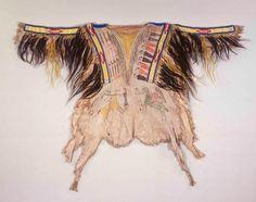 Northern Tsitsistas/Suhtai (Cheyenne) shirt, ca. 1865.