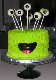 Alien Monster Cake