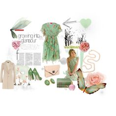 Garden Beauty, created by summergirl-914 on Polyvore