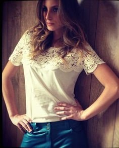 lace on a tee