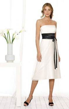 Discount White Bridesmaid Dress BNNAJ0101-Bridesmaid UK