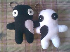 Handmade voodoo doll Couple dolls