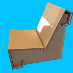 corrugated board lounge chair Karton Design, Container, Lounge, Chair, Board, Airport Lounge, Drawing Rooms, Lounges, Stool
