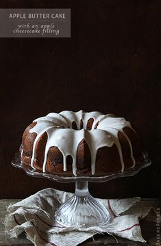 Apple Butter Cake by Bakers Royale