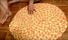 Alte Foittierhandtücher zu neuem Leben erweckt! Eine gute, aber aufwendige Upcycling-Idee von HGTV Handmade auf YouTube - gefunden auf
