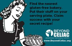 Head to the nearest gluten-free bakery and steal their stuff.