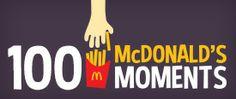 McDonald's top 100 moments.