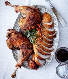 Thanksgiving Turkey - Bon Appétit Magazine articles helpful for planning inspiration. V