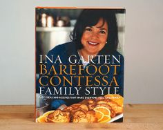 Candra S Kitchen Barefoot Contessa Family Style Cookbook Autographed By Ina Garten