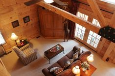 Like New Jim Barna log cabin for sale in Buck Mountain in Mountainview Estates close to West Jefferson, NC Cabin Style Homes, Log Cabin Homes, Country Style Homes, Log Cabins For Sale, Log Cabin Kits, Timber Frame Home Plans, Timber Frame Homes, Bed Design, House Design