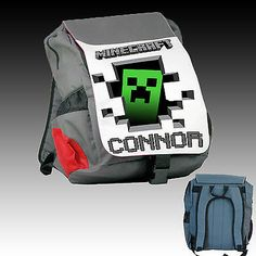 Clash of Clans/Minecraft BackPack Bags for by MissionBackpack ...