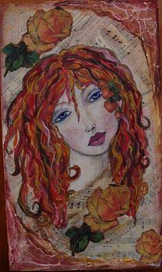 My Art Journal: Faces