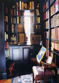 Perfect Home Library Design Ideas For Your Private Library 14