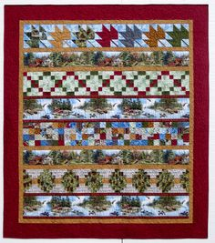 Row Low--designed for 2011 Quilt MN fabrics