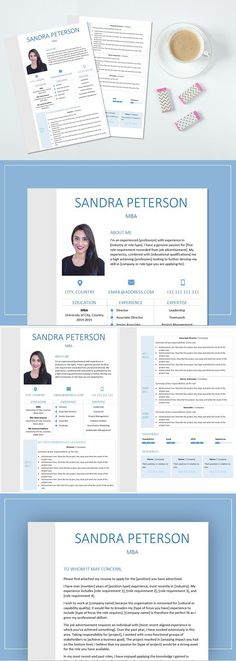 Resume And Cover Letter. Resume Templates