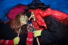 'Walpurgis Night' which is most popular in Germany and in North Europe Walpurgis Night, North Europe, Germany, Dreadlocks, Celebrities, Hair Styles, Beauty, Bonfires, Folklore