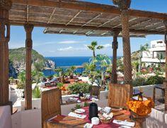 Ibiza...Hacienda Na Xamena - Terrace