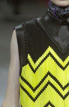 Alexander Wang AW14/15 / woven leather / #MIZUstyle