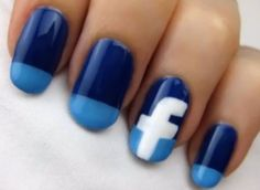 If you want polish your nails for party, wedding or other events. So, here we have listed most creative and cool nail designs for your inspiration. Sexy Nails, Love Nails, Fun Nails, Pretty Nails, Style Nails, Manicure, Mani Pedi, Cute Nail Art, Nail Art Diy