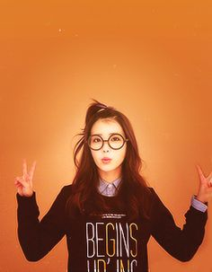 IU // over-sized black frames Korean Girl, Asian Girl, Iu Hair, Most Beautiful Faces, Pretty Eyes, Best Face Products, Ulzzang Girl, Role Models, Kpop Girls