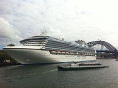 Diamond Princess @Sydney Harbor  www.boat-spotting.com for more pictures
