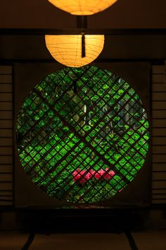 網代窓 Wickerwork window, Gio-ji Temple,Kyoto
