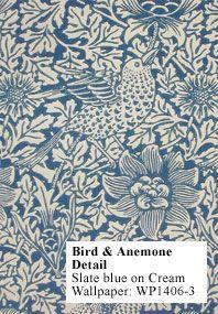 """William Morris """"Bird & Anemone"""" wallpaper"""