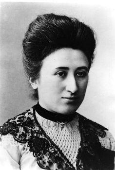 Rosa Luxemburgo, revolucionaria y teórica del socialismo alemán, de origen judío polaco