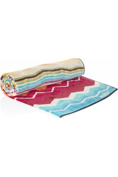 Missoni Home  Hugo printed cotton-flannel towel