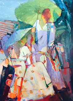 Sun and Shade by Michael Steirnagle ~ 48 x 36